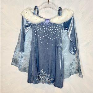Disney Frozen Velour Musical Singing Elsa Costume